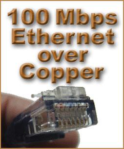 100 Mbps Ethernet over Copper Service